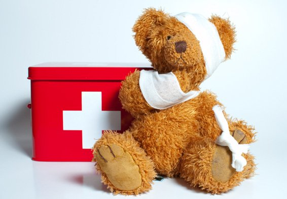 Paediatric first aid childcare
